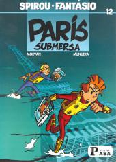 Spirou e Fantásio (en portugais) -47a2007- Paris submersa