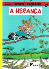 Spirou e Fantásio (en portugais) -HS01- A herança