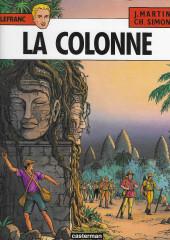 Lefranc -14- La colonne
