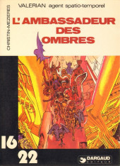 Valérian (16/22) -7132- L'ambassadeur des ombres