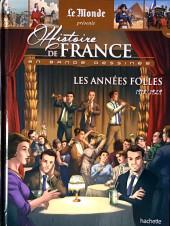 Histoire de France en bande dessinée -50- Les années folles 1918/1929
