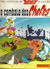 Astérix (en portugais) -7a1975- O combate dos chefes