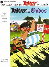 Astérix (en portugais) -3- Astérix e os Godos