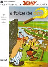 Astérix (en portugais) -2- A foice de oiro