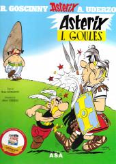 Astérix (en langues régionales) -1Mirandês- Asterix L Goulés
