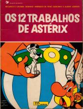 Astérix (hors série) (en portugais) -1- Os 12 trabalhos de Astérix