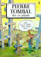 Pierre Tombal -4- Des os pilants