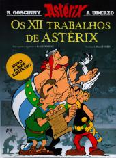 Astérix (hors série) (en portugais) -C01- Os XII trabalhos de Astérix