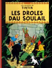 Tintin (en langues régionales) -14Charentais- les droles dau soulail