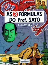 Blake e Mortimer (Aventuras de) (en portugais) -11- As 3 fórmulas do Prof. Sato