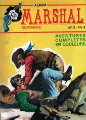 Marshal, le shérif de Dodge city -Rec02- Album N°2 (du n°4 au n°6)