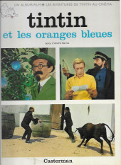 Tintin - Divers -C2a70- Tintin et les oranges bleues