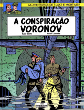 Blake e Mortimer (Aventuras de) (en portugais) -14- A conspiração Voronov