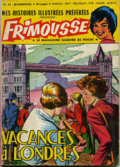 Frimousse -23- Vacances à Londres