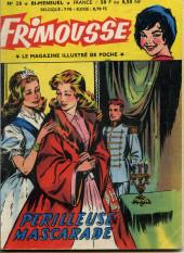 Frimousse -28- Périlleuse mascarade