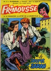 Frimousse -31- Le secret de Sarah