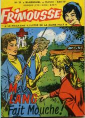 Frimousse -39- Melle Lang fait mouche !