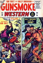 Gunsmoke Western (Atlas Comics - 1957) -32- The Plunderers!/Siege!