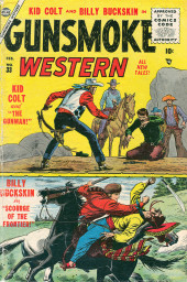 Gunsmoke Western (Atlas Comics - 1957) -33- Kid Colt and the Gunman!/Scourge of the Frontier!
