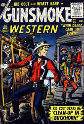 Gunsmoke Western (Atlas Comics - 1957) -36- Clean-Up in Buckhorn!