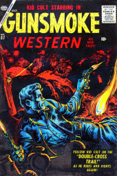 Gunsmoke Western (Atlas Comics - 1957) -37- Issue # 37