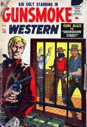Gunsmoke Western (Atlas Comics - 1957) -40- Showdown Street!
