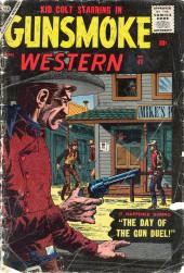 Gunsmoke Western (Atlas Comics - 1957) -41- The Day of the Gun Duel!