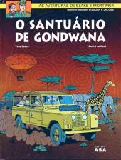 Blake e Mortimer (Aventuras de) (en portugais) -18- O santuário de Gondwana