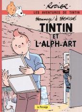 Tintin - Pastiches, parodies & pirates -19h2020- Tintin et l'Alph-Art