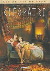 Les reines de sang - Cléopâtre, la Reine fatale -4- Tome 4
