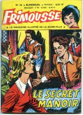 Frimousse -36- Le secret du manoir