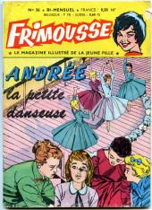 Frimousse -56- Andrée la petite danseuse