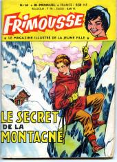 Frimousse -60- Le secret de la montagne