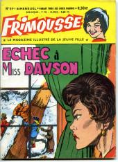 Frimousse -89- Echec à Miss Dawson
