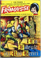 Frimousse -111- La filleule du roi Henri