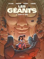 Les géants (Lylian/Drouin) -3- Bora et Leap