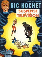 Ric Hochet -7a86- Suspense à la télévision