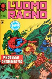 L'uomo Ragno V1 (Editoriale Corno - 1970)  -213- Processo Drammatico