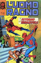 L'uomo Ragno V1 (Editoriale Corno - 1970)  -218- Il Ritorno di Tarantula