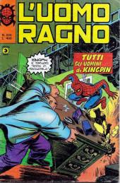 L'uomo Ragno V1 (Editoriale Corno - 1970)  -220- Tutti gli Uomini di Kingpin