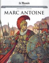 Les grands Personnages de l'Histoire en bandes dessinées -57- Marc Antoine