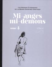 Les grands Classiques de la Bande Dessinée érotique - La Collection -126128- Mi-anges mi-démons