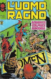 L'uomo Ragno V1 (Editoriale Corno - 1970)  -222- Kraven colpisce ancora