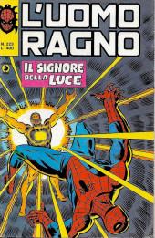 L'uomo Ragno V1 (Editoriale Corno - 1970)  -223- Il Signore della Luce