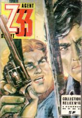 Z33 agent secret (Imperia) -Rec16- Collection reliée N°16 (du n°61 au n°64)
