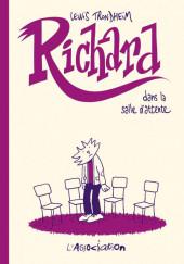 Richard -4- Richard dans la salle d'attente