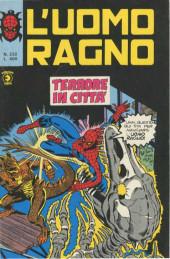 L'uomo Ragno V1 (Editoriale Corno - 1970)  -232- Terrore in Città