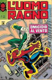 L'uomo Ragno V1 (Editoriale Corno - 1970)  -235- Omicidio al Vento