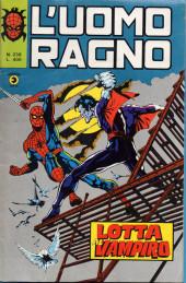 L'uomo Ragno V1 (Editoriale Corno - 1970)  -238- Lotta al Vampiro