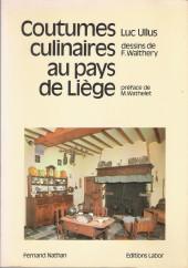 (AUT) Walthéry -1981- Coutumes culinaires au pays de Liège
